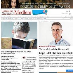 Läsinlärningen är ett svart hål efter kodknäckarfasen, - Mattias Lönnebos blogg på LitteraturMagazinet