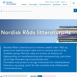 Nordisk Råds litteraturpris
