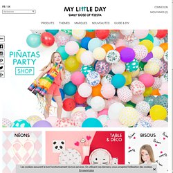 anniversaire enfant - my little day