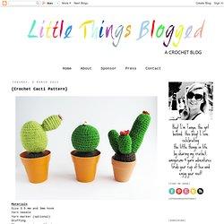 {Crochet Cacti Pattern}