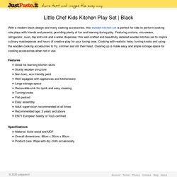 Little Chef Kids Kitchen Play Set
