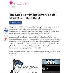 The Little Comic That Every Social Media User Must Read