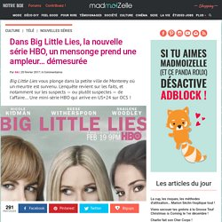 Big Little Lies : la critique de la série — madmoiZelle.com