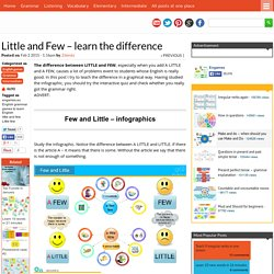 Little and Few - learn the difference