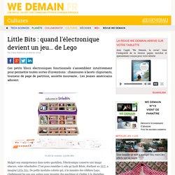 Little Bits : quand l'électronique devient un jeu... de Lego