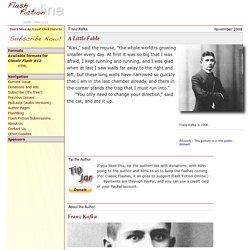 A Little Fable—Franz Kafka—Flash Fiction Online