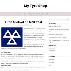 Little Facts of an MOT Test