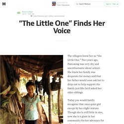 """The Little One"" Finds Her Voice"