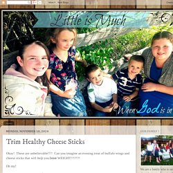 Trim Healthy Cheese Sticks
