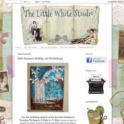The Little White Studio: Kids Summer Holiday Art Workshops