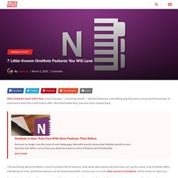 7 Little-Known OneNote Features You Will Love