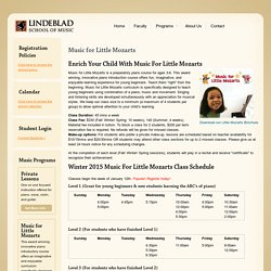 Lindeblad School of Music