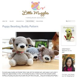 Puppy Beanbag Buddy Pattern