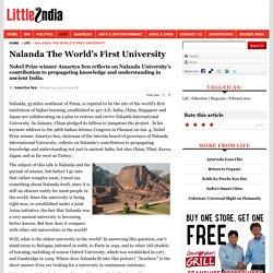 Little India - Nalanda The World's First University