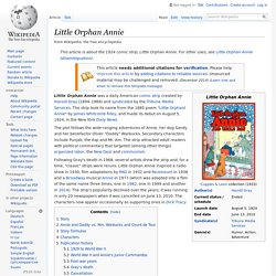 Little Orphan Annie - Wikipedia