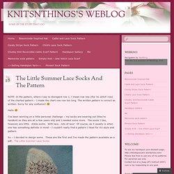 Knitsnthings's Weblog