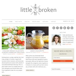 Little Broken - Food recipes from fresh ingredients - Part 2