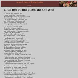 Little Red Riding Hood and the Wolf * Roald Dahl