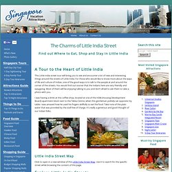 Little India Street Tour - Indian Food, Shopping, Restaurants, Map and Hotels