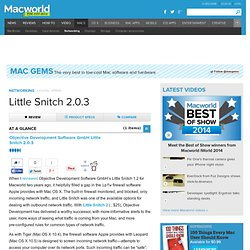 Little Snitch 2.0.3 Networking Utility Review