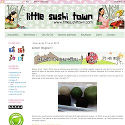 Little Sushi Town: Atelier Wagashi !