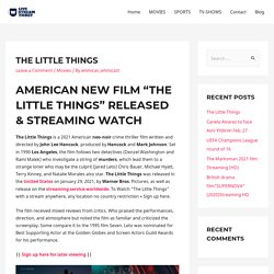 The Little Things - Live Stream Ticket