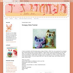 Scrappy Owls Tutorial
