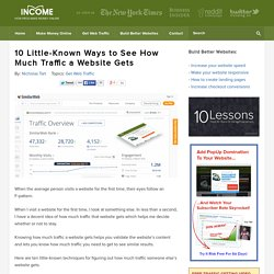10 Little-Known Ways to See How Much Traffic a Website Gets
