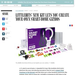 LittleBits' New Kit Lets You Create Your Own Smart-Home Gizmos