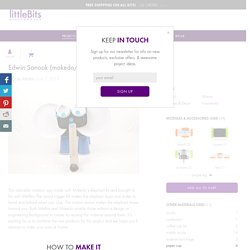 Edwin Sanook (makedo/littleBits elephant): a littleBits Project by littleBits