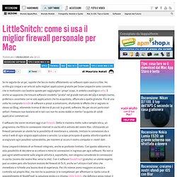 LittleSnitch: come si usa il miglior firewall personale per Mac
