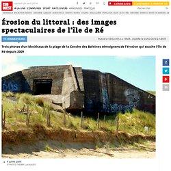 Érosion du littoral : des images spectaculaires de l'île de Ré