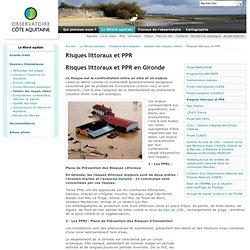 Risques littoraux et PPR — Observatoire de la côte aquitaine