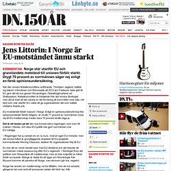 Jens Littorin: I Norge är EU-motståndet ännu starkt