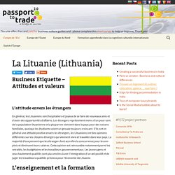 La Lituanie (Lithuania) - Business Culture (FR)