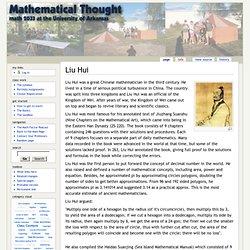 Liu Hui - Math2033
