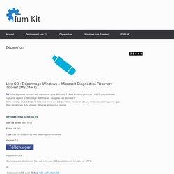 Live CD Dépann'Ium - Ium Kit