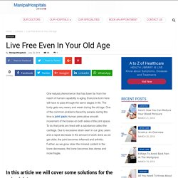 Live Free in Your Old Age