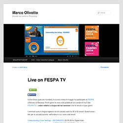 Live on FESPA TV