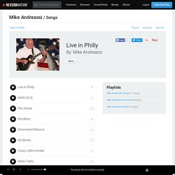 Live in Philly by Mike Andreassi