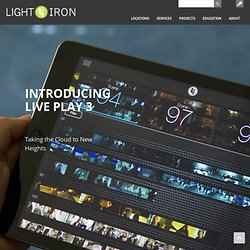 LiVE PLAY | Light Iron