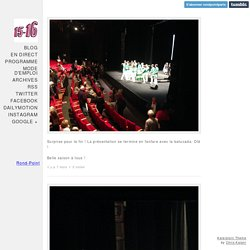 Le Live de Saison 15-16 du Théâtre du Rond-Point