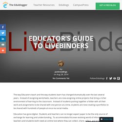 Educator's Guide to LiveBinders