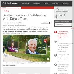 Liveblog: reacties uit Duitsland na winst Donald Trump - DuitslandnieuwsDuitslandnieuws