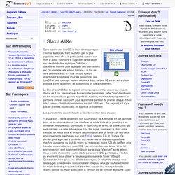 Slax / AliXe - LiveCD GNU/Linux