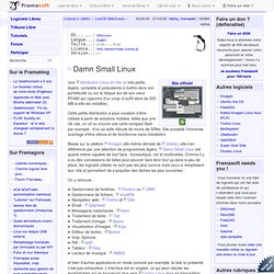 Damn Small Linux - LiveCD GNU/Linux