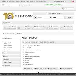 Scuola - Master 2 Livello - Pegaso Università Telematica Online