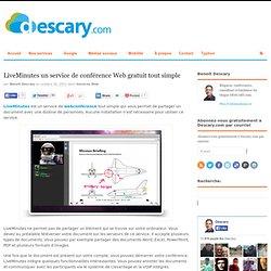 LiveMinutes un service de conférence Web gratuit tout simple