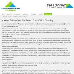 Livermore Hardwood Cleaner - Livermore Carpet Cleaner - Pleasanton Carpet Cleaner