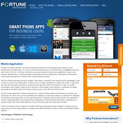 Liverpool Mobile apps developer for iPhone and Android